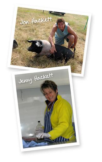 Jon and Jenny Hackett
